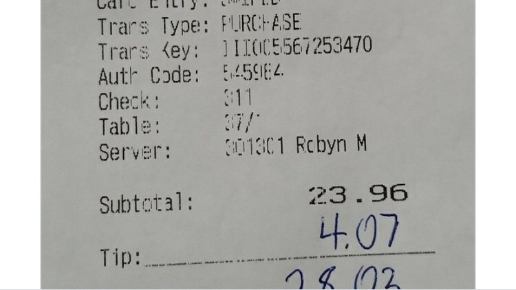 The Bill For Saints Fans At An Atlanta Restaurant Comes Out To An InterestingNumber